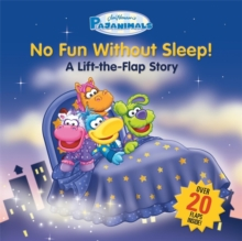 Pajanimals: No Fun Without Sleep! : A Lift-the-Flap Story, Board book Book