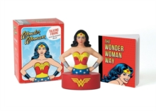Wonder Woman Talking Figure and Illustrated Book, Mixed media product Book