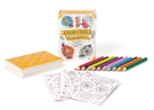 Sugar Skulls Coloring Kit, Mixed media product Book