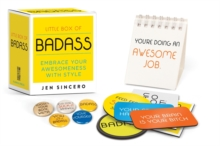 Little Box of Badass, Mixed media product Book