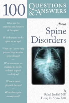 100 Questions  &  Answers About Spine Disorders, Paperback / softback Book