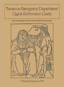 Tarascon Emergency Department Quick Reference Guide, Paperback / softback Book