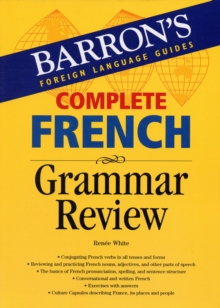 Complete French Grammar Review, Paperback Book