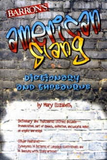 American Slang Dictionary and Thesaurus, Paperback Book