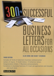 300+ Successful Business Letters for All Occasions, Paperback / softback Book