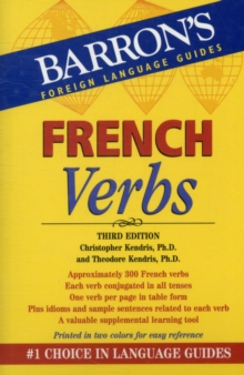 French Verbs, Paperback / softback Book