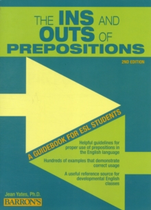 In's and Outs of Prepositions, Paperback Book
