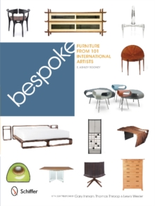 Bespoke: Furniture from 101 International Artists, Hardback Book