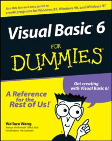Visual Basic 6 For Dummies, Paperback Book