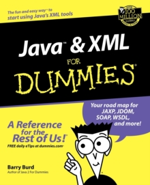 Java and XML For Dummies, Paperback / softback Book