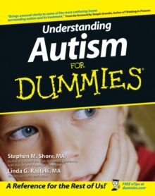 Understanding Autism for Dummies, Paperback Book