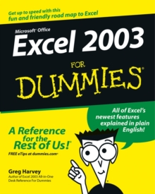 Excel 2003 for Dummies, Paperback Book