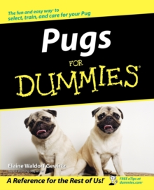 Pugs for Dummies, Paperback Book