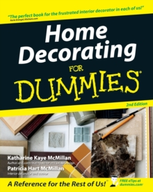 Home Decorating For Dummies, Paperback Book