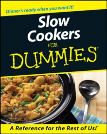 Slow Cookers for Dummies, Paperback Book
