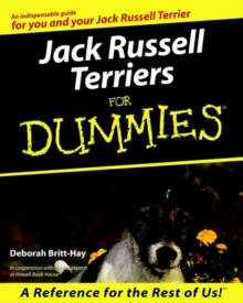 Jack Russell Terriers For Dummies, Paperback Book