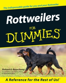Rottweilers for Dummies, Paperback Book