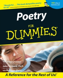 Poetry For Dummies, Paperback / softback Book