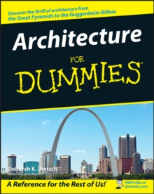 Architecture for Dummies, Paperback Book