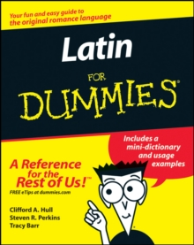 Latin For Dummies, Paperback / softback Book
