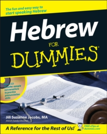 Hebrew For Dummies, Paperback / softback Book