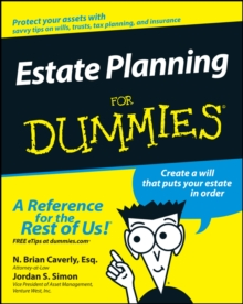 Estate Planning For Dummies, Paperback / softback Book