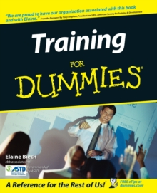 Training For Dummies, Paperback Book