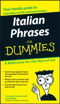 Italian Phrases For Dummies, Paperback Book