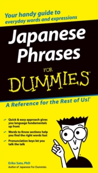 Japanese Phrases for Dummies, Paperback Book