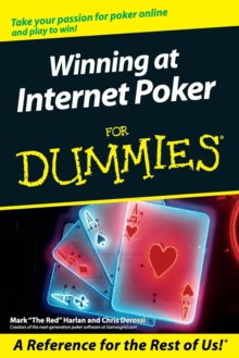 Winning at Internet Poker for Dummies, Paperback Book