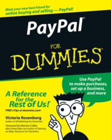 PayPal For Dummies, Paperback / softback Book