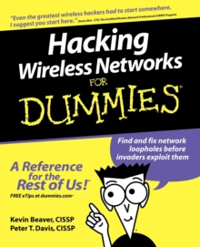 Hacking Wireless Networks For Dummies, Paperback Book