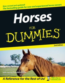 Horses For Dummies, Paperback Book