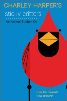 Charley Harper's Sticky Critters : An Animal Sticker Kit AA746, Novelty book Book