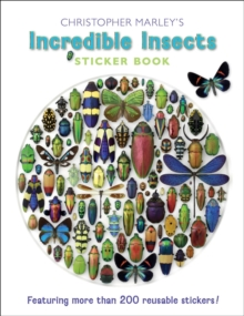 Christopher Marley's Incredible Insects Sticker Book Bs004, Novelty book Book