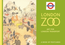 London Zoo Art for London Transport Book of Postcards AA768, Postcard book or pack Book