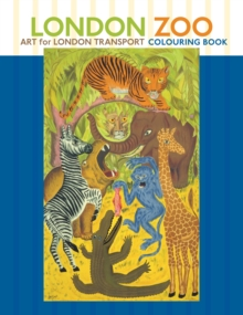 London Zoo Art for London Transport, Paperback / softback Book
