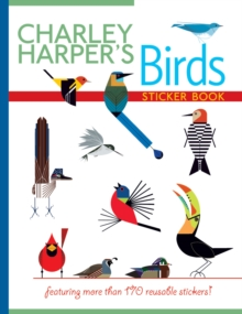 Charley Harper's Birds Sticker Book Bs005, Novelty book Book