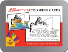 B. Kilban Cat Coloring Cards  Cc104, Other printed item Book