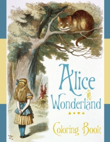 Alice in Wonderland Colouring Book, Paperback / softback Book