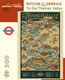 Ritchie & Derrick to the Thames Valley 500-Piece Jigsaw Puzzle Aa818, Other merchandise Book