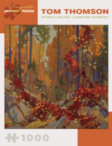 Tom Thomson  Autumn's Garland 1 000-Piece Jigsaw Puzzle Aa825, Other merchandise Book