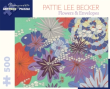 Pattie Lee Becker : Flowers & Envelopes 500-Piece Jigsaw Puzzle Aa833, Other merchandise Book