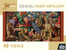 COLIN GILL HEAVY ARTILLERY 1000 PIECE JI,  Book
