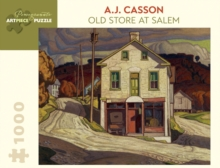 AJ CASSON OLD STORE AT SALEM 1000 PIECE,  Book