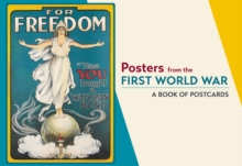 Posters from the First World War  Book of Postcards Aa862, Postcard book or pack Book