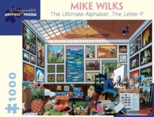 Mike Wilks the Ultimate Alphabet the Letter P 1000-Piece Jigsaw Puzzle  Aa897, Other merchandise Book
