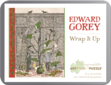 Edward Gorey Wrap it Up 100-Piece Jigsaw Puzzle  Aa909, Other merchandise Book