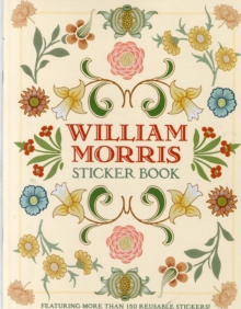 William Morris Sticker Book  Bs012, Novelty book Book