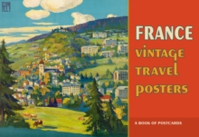 France Vintage Travel Posters Book of Postcards  Aa914, Postcard book or pack Book